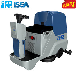 HT65B Ride-on Scrubber Drier(double-brush )