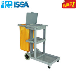 D-011-B Multupurpose cleaning cart with cover