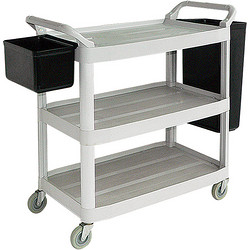 D-012A Large Dinner Trolley(with bucket)