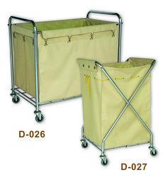 D-026 Rectangle Laundry cart & D-027 X Laundry cart